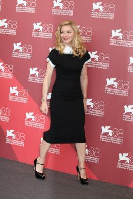 photo 20/48 - Madonna - Photocall du film W.E., 1er septembre 2011, Venise - W.E. - Wallis et Edouard - © Isabelle Vautier pour Commeaucinema.com