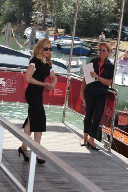 photo 27/48 - Madonna - Photocall du film W.E., 1er septembre 2011, Venise - W.E. - Wallis et Edouard - © Isabelle Vautier pour Commeaucinema.com
