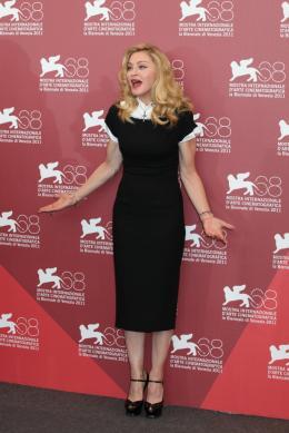 photo 21/48 - Madonna - Photocall du film W.E., 1er septembre 2011, Venise - W.E. - Wallis et Edouard - © Isabelle Vautier pour Commeaucinema.com