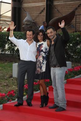 Rouille Stefano Accorsi, Valeria Solarino et Filippo Timi - Présentation du film Ruggine, 1er septembre 2011, Venise photo 6 sur 16