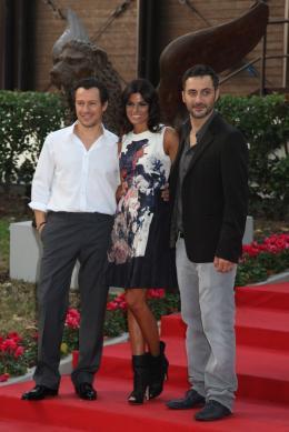 Rouille Stefano Accorsi, Valeria Solarino et Filippo Timi - Présentation du film Ruggine, 1er septembre 2011, Venise photo 7 sur 16