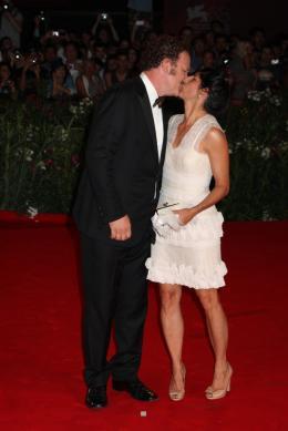 photo 50/54 - John C. Reilly et sa femme - Pr�sentation du film Carnage, 1er septembre 2011, Venise - Carnage - © Isabelle Vautier pour Commeaucinema.com