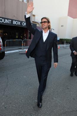 photo 27/35 - Brad Pitt - Avant-première du film Le Stratège à Oakland - Le Stratège - © Sony Pictures