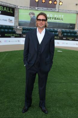photo 29/35 - Brad Pitt - Avant-première du film Le Stratège à Oakland - Le Stratège - © Sony Pictures