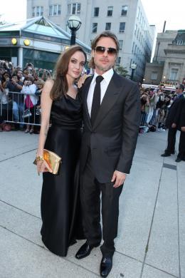 photo 19/35 - Angelina Jolie et Brad Pitt - Avant-première du film Le Stratège à Toronto - Le Stratège - © Sony Pictures