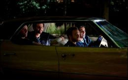 photo 1/13 - Frédéric Testot, Arié Elmaleh, Ary Abittan et Jonathan Lambert - Dépression & des potes - © Studio Canal