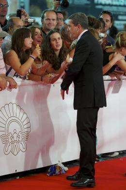 photo 61/135 - Antonio Banderas - Présentation du film Le Chat Potté au Festival de San Sebastian 2011 - Le Chat Potté - © Paramount