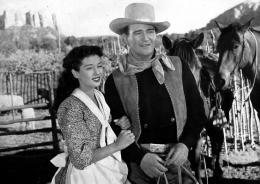 L'ange et le mauvais garçon Gail Russell, John Wayne photo 5 sur 13