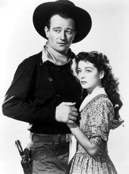 L'ange et le mauvais garçon John Wayne, Gail Russell photo 2 sur 13