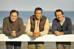 photo 4/25 - Wladimir Yordanoff, Gérard Lanvin, Jean-Hugues Anglade - Amitiés sincères - © SND