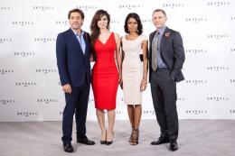 photo 55/67 - Javier Bardem, B�r�nice Marlohe, Naomie Harris et Daniel Craig - Conf�rence de presse du film Skyfall - Skyfall - © Sony Pictures