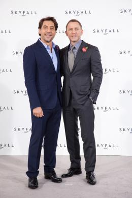 photo 53/67 - Javier Bardem et Daniel Craig - Conf�rence de presse du film Skyfall - Skyfall - © Sony Pictures