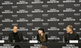 photo 44/45 - Stellan Skarsgard, Rooney Mara et David Fincher - Conférence de presse du film Millenium, Les hommes qui n?aimaient pas les femmes - Millenium, Les hommes qui n'aimaient pas les femmes - © Sony Pictures