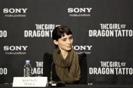 photo 42/45 - Rooney Mara - Conférence de presse du film Millenium, Les hommes qui n?aimaient pas les femmes - Millenium, Les hommes qui n'aimaient pas les femmes - © Sony Pictures