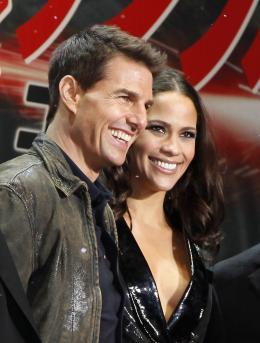 photo 270/300 - Tom Cruise et Paula Patton - Première japonaise de Mission : Impossible - Protocole Fantôme - Mission Impossible - La Quadrilogie - © Paramount