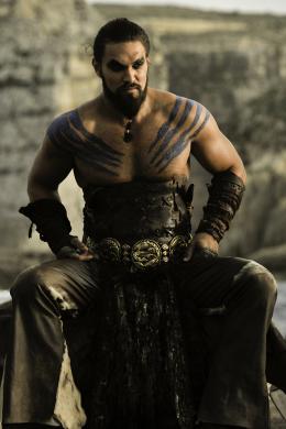 photo 22/78 - Jason Momoa - Game of Thrones - Saison 1 - © Warner Home Vidéo