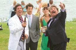 photo 7/27 - Adam Sandler, Andy Samberg, Leighton Meester, Tony Orlando - Crazy Dad - © Sony Pictures