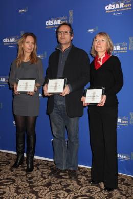 Delphine Coulin Déjeuner des Nommés - César 2012 photo 2 sur 2