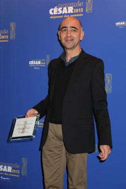 Mathieu Vadepied Déjeuner des Nommés - César 2012 photo 1 sur 1