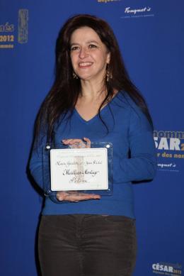Laure Gardette Déjeuner des Nommés - César 2012 photo 2 sur 2