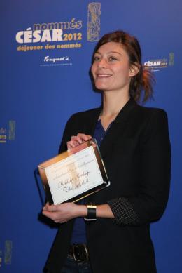 Anne-Sophie Bion Déjeuner des Nommés - César 2012 photo 1 sur 1
