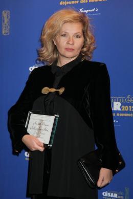 Eva Ionesco Déjeuner des Nommés - César 2012 photo 3 sur 5