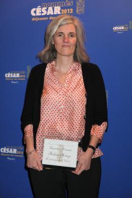 Laurence Briaud D�jeuner des Nomm�s - C�sar 2012 photo 1 sur 1