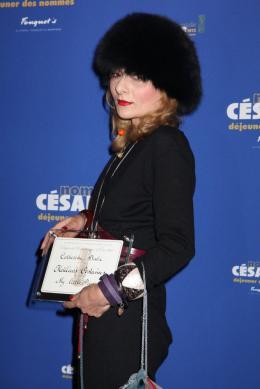 Catherine Baba Déjeuner des Nommés - César 2012 photo 3 sur 3