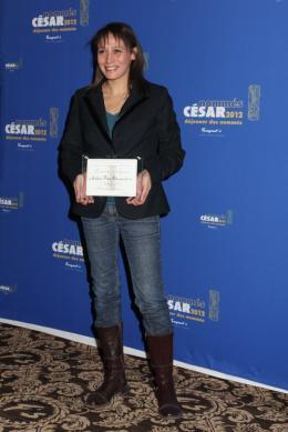 Yasmina Adi D�jeuner des Nomm�s - C�sar 2012 photo 1 sur 1