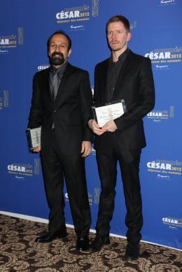 Asghar Farhadi D�jeuner des Nomm�s - C�sar 2012 photo 9 sur 12