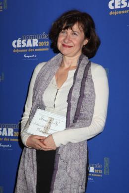 Anne Le Ny Déjeuner des Nommés - César 2012 photo 6 sur 18