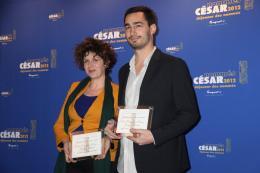 Baya Kasmi Déjeuner des Nommés - César 2012 photo 2 sur 7