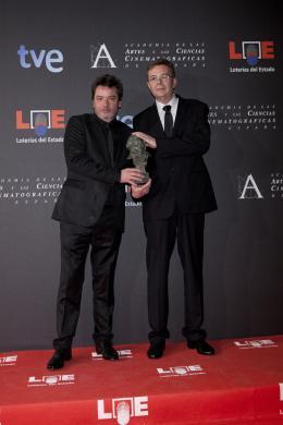 Pas de répit pour les damnés Enrique Urbizu et Michel Gaztambide - Prix Goya 2012 Du Cinéma Espagnol photo 1 sur 4