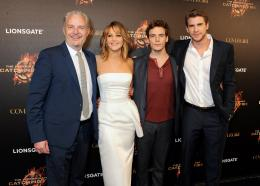 photo 65/120 - Francis Lawrence, Jennifer Lawrence, Sam Claflin, Liam Hemsworth - Hunger Games - L'Embrasement - © Metropolitan Film