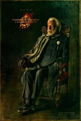 photo 95/120 - Donald Sutherland - Hunger Games - L'Embrasement - © Metropolitan Film