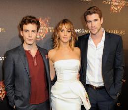photo 63/120 - Sam Claflin, Jennifer Lawrence, Liam Hemsworth - Hunger Games - L'Embrasement - © Metropolitan Film