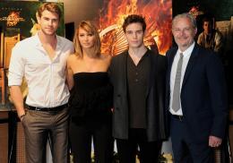 photo 54/120 - Liam Hemsworth, Jennifer Lawrence, Sam Claflin, Francis Lawrence - Hunger Games - L'Embrasement - © Metropolitan Film