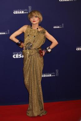 Catherine Baba Tapis Rouge de la 37�me Nuit des C�sars c�sars 2012 photo 2 sur 3