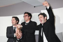 Olivier Treiner Photocall des lauréats - César 2012 photo 1 sur 2
