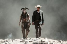 photo 69/105 - Johnny Depp et Armie Hammer - Lone Ranger - © Walt Disney Studios Motion Pictures France