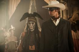 photo 37/105 - Johnny Depp et Armie Hammer - Lone Ranger - © Walt Disney Studios Motion Pictures France
