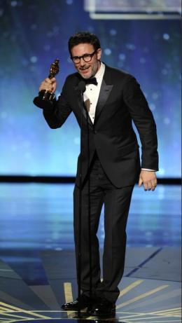 84ème Cérémonie des Oscars 2012 Michel Hazanavicius - 84ème Cérémonie des Oscars 2012 photo 7 sur 79