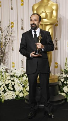 Une S�paration Asghar Farhadi - 84�me C�r�monie des Oscars 2012 photo 6 sur 6
