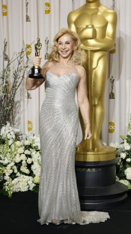 photo 42/46 - Francesca Lo Schiavo - 84�me C�r�monie des Oscars 2012 - Hugo Cabret - © oscar.go.com