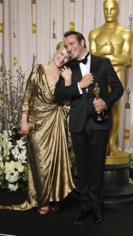 84ème Cérémonie des Oscars 2012 Jean Dujardin et Meryl Streep - 84ème Cérémonie des Oscars 2012 photo 6 sur 79
