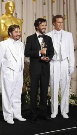 photo 40/41 - Zach Galifianakis, Bret McKenzie et Will Ferrell - 84�me C�r�monie des Oscars 2012 - Les Muppets, le retour - © oscar.go.com