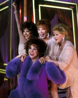 Drôles de retrouvailles Joan Collins, Elizabeth Taylor photo 2 sur 2