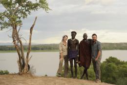photo 10/10 - Zabou Breitman, Frederic Lopez - Rendez-vous en Terre inconnue - Zabou Breitman chez les Nyangatom en Ethiopie - © Buena Vista Home Entertainment