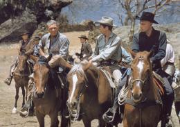 Les Sept mercenaires Yul Brynner et Steve McQueen photo 2 sur 5