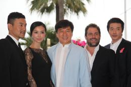 photo 595/711 - Liao Fan, Yao Xingtong, Jackie Chan, Brett Ratner et Kwone Sang-Woo - Cannes, mai 2012 - 65ème Festival International Du Film De Cannes 2012 - © Isabelle Vautier pour CommeAuCinema.com